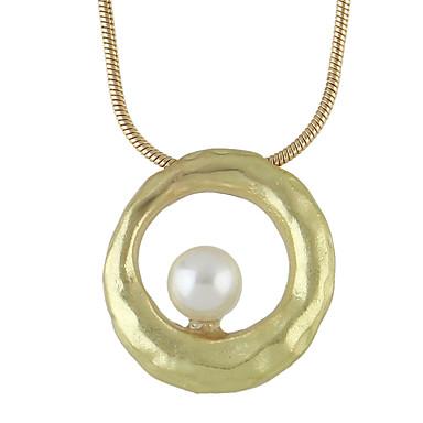 Kadın's Temel Uçlu Kolyeler Mücevher alaşım Uçlu Kolyeler , Günlük