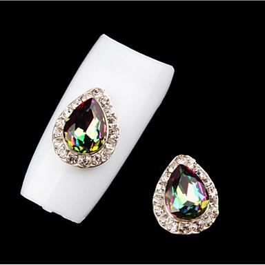 3 Biżuteria do paznokci Błyskotki Metaliczny Modny Wysoka jakość Codzienny