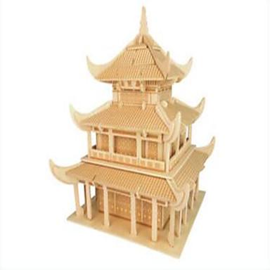 تركيب خشبي بناء مشهور الزراعة الصينية المستوى المهني خشب كريسماس عيد الميلاد مهرجان عيد الأطفال فتيات صبيان هدية