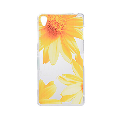 tok Για Sony Z5 Sony Xperia Z3 Sony Με σχέδια Πίσω Κάλυμμα Λουλούδι Μαλακή TPU για Sony Xperia Z3 Sony Xperia Z5 Sony