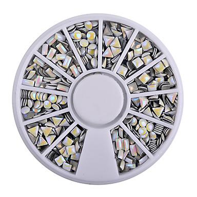 1 Sanat Dekorasyon Nail Rhinestone inciler Makyaj Kozmetik Sanat Tasarım Nail