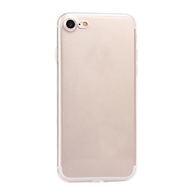 Varten Ultraohut Läpinäkyvä Etui Takakuori Etui Yksivärinen Pehmeä TPU varten AppleiPhone 7 Plus iPhone 7 iPhone 6s Plus/6 Plus iPhone