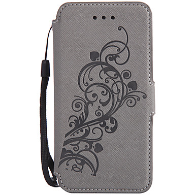 Için Kart Tutucu Cüzdan Satandlı Flip Pouzdro Tam Kaplama Pouzdro Çiçek Sert PU Deri için Sony Sony Xperia XA