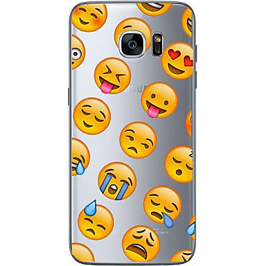 غطاء من أجل Samsung Galaxy S7 edge S7 نحيف جداً شفاف نموذج غطاء خلفي كارتون ناعم TPU إلى S7 edge S7 S6 edge plus S6 edge S6