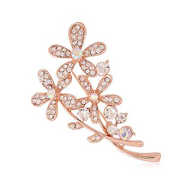 Pentru femei Diamante Artificiale Broșe - Lux / Modă Argintiu / Auriu Broșă Pentru Nuntă / Petrecere / Zilnic