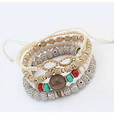 Damskie Bransoletki Strand Inspirujący Słodkie Style Europejski Akrylowy Kryształ górski Stop Biżuteria Casual