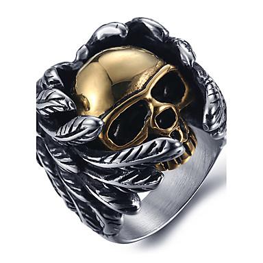Bărbați Inel Inel de declarație - Craniu Modă Pentru Halloween Zilnic Casual