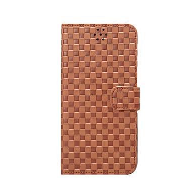 Varten Lomapkko Korttikotelo Tuella Flip Etui Kokonaan peittävä Etui Geometrinen printti Kova Tekonahka varten AppleiPhone 6s Plus/6 Plus
