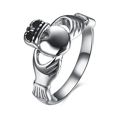 Γυναικεία Δαχτυλίδι Love Καρδιά Μοντέρνα Ευρωπαϊκό Ανοξείδωτο Ατσάλι Τιτάνιο Ατσάλι Κοσμήματα Πάρτι Καθημερινά Causal
