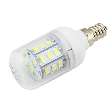 2W E14 LED Λάμπες Καλαμπόκι T 27 SMD 5730 150-200 lm Θερμό Λευκό Ψυχρό Λευκό κ Διακοσμητικό V