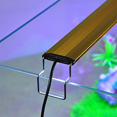 Akvaariot LED-valo Valkoinen Sininen Säädettävä LED-lamppu 220V-240VVAlumiini