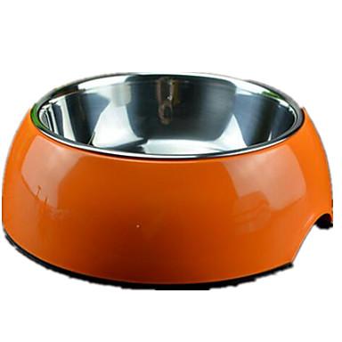 Kissa Koira Kulhot ja vesipullot Lemmikit Kupit ja ruokinta Kannettava Taiteltava Valkoinen Oranssi Sininen