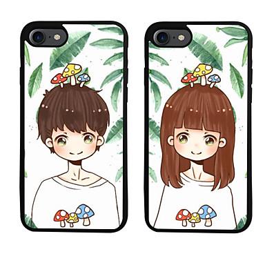 Varten Kuvio Etui Takakuori Etui Piirros Pehmeä TPU varten Apple iPhone 7 Plus iPhone 7 iPhone 6s Plus/6 Plus iPhone 6s/6