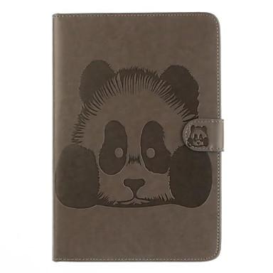 Maska Pentru Apple iPad Air 2 iPad Air Titluar Card Cu Stand Întoarce Carcasă Telefon Desene Animate Greu PU piele pentru iPad Air iPad
