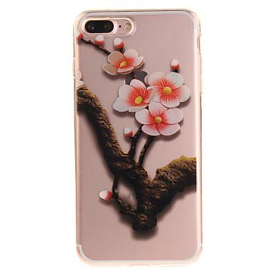 Για IMD Διαφανής Με σχέδια tok Πίσω Κάλυμμα tok Δέντρο Μαλακή TPU για AppleiPhone 7 Plus iPhone 7 iPhone 6s Plus/6 Plus iPhone 6s/6