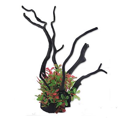 Decorațiune pentru Acvariu Plante Artificial Reșină
