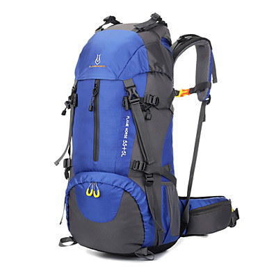 60 L Sırt Çantası Paketleri Yürüyüş Çantaları Travel Organizer sırt çantası Tırmanma Serbest Sporlar Kamp & Yürüyüş SeyahatSu Geçirmez
