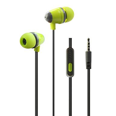 ουδέτερη Προϊόν HST-53 Ακουστικά Ψείρες (Μέσα στο Κανάλι Αυτιού)ForMedia Player/Tablet Κινητό Τηλέφωνο ΥπολογιστήςWithΜε Μικρόφωνο DJ