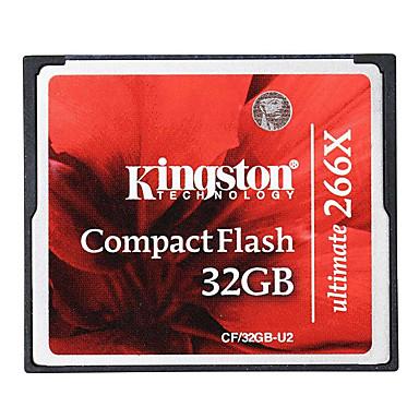 Kingston 33GB 컴팩트 플래시  CF 카드 메모리 카드 Ultimate 266x