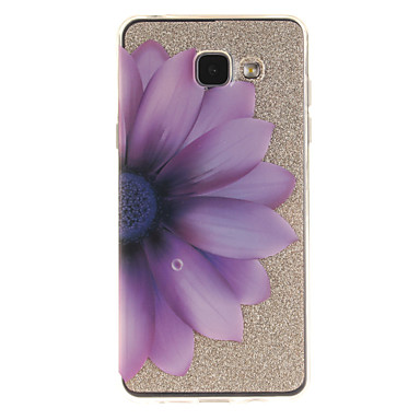 tok Για Samsung Galaxy A5(2016) A3(2016) IMD Διαφανής Με σχέδια Πίσω Κάλυμμα Λουλούδι Μαλακή TPU για A5(2016) A3(2016) A5 A3