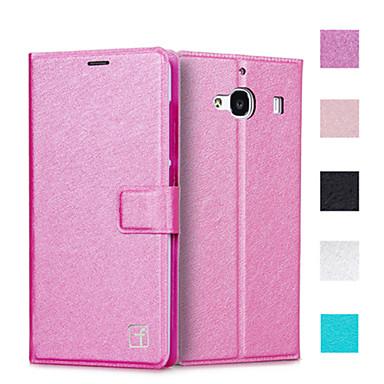 Asling beschermende flip open pu lederen tas full body creditcardhouder slots luxe mobiele telefoon zak voor Xiaomi redmi 2