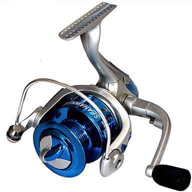 Balık Oltaları Makaraları Spinning Makaralar 2.6:1 8.0 Rulmanlar Değiştirilebilir Genel Balıkçılık-LF4000