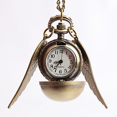 Męskie Kwarcowy Zegarek na naszyjniku Zegarek kieszonkowy Do sukni / garnituru Gorąca wyprzedaż Stop Pasmo Vintage Złoty