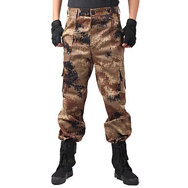 Erkek Kadın's Unisex Kamuflaj Avcı Pantolonları Giyilebilir Hafif Malzemeler kamuflaj Alt Giyimler için Avlanma S M L XL XXL