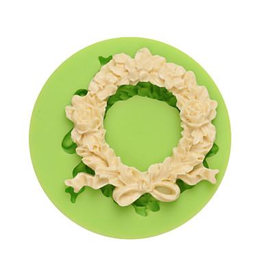 الخبز العفن وردة تبرعم لكاندي جليد Cupcake بسكويت كعكة Other سيليكون صديقة للبيئة اصنع بنفسك زفاف جودة عالية 3D غير لاصقة