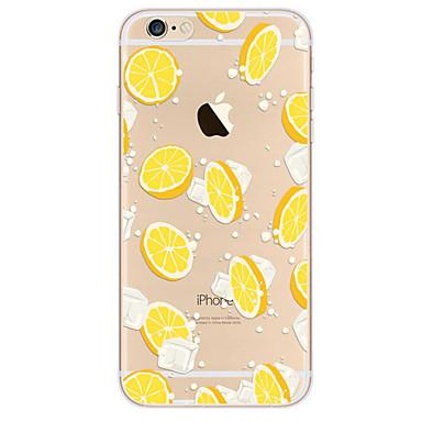 Pouzdro Uyumluluk Apple iPhone 6 iPhone 7 Plus iPhone 7 Ultra İnce Temalı Arka Kapak Meyve Yumuşak TPU için iPhone 7 Plus iPhone 7 iPhone