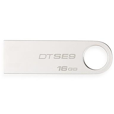 Kingston 16 GB USB hordozható tároló usb lemez USB 2.0 Fém