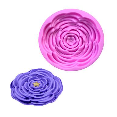 Forma do pieczenia Kwiat Czekoladowy Ciasteczka Tort Silicon Rubber Ekologiczne
