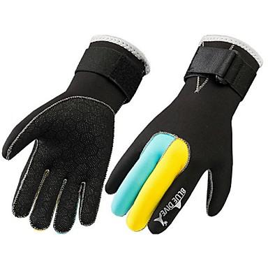 Rękawice do nurkowania Rękawiczki sportowe Rękawice narciarskie Nylon Full Finger Keep Warm Wearproof Ochronne Taktyczna Łowiectwo