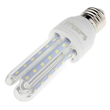 E26/E27 LED-maïslampen T 72 leds SMD 3014 Decoratief Warm wit Koel wit 650lm 3200/6000K AC 85-265V