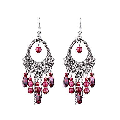 Damskie 1 Kolczyki wiszące Stop Biżuteria Ślub Impreza Codzienny Casual Biżuteria kostiumowa