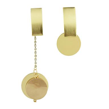 Kolczyki wiszące Stop Gold Biżuteria Na Casual 1 para