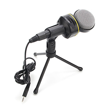 2017 uusi hyödyllinen kuuma langallinen laadukkaat stereo kondensaattorimikrofoni pidin leikkeiden chattailuun karaoke kannettava pc