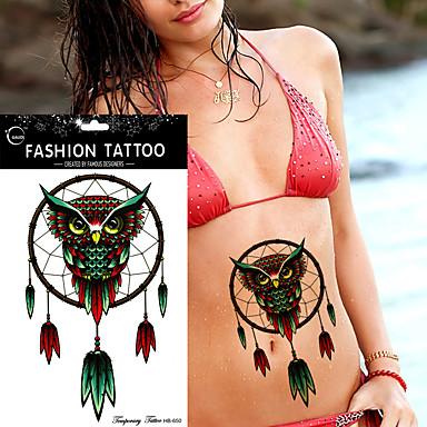 Tatuointitarrat Eläinsarja Non Toxic Waterproof Naisten Miesten Teini Flash Tattoo väliaikaiset tatuoinnit
