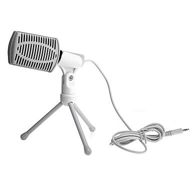 2017 nowych użytecznych gorące przewodowy wysokiej jakości mikrofon pojemnościowy stereo z klipsem Uchwyt na czacie karaoke przenośny