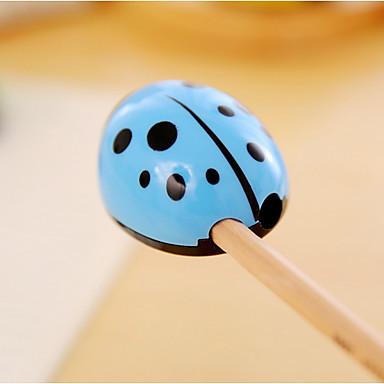 Creion Stilou Ascuțitori manuale Stilou, Plastic Culori aleatorii Culori de cerneală For Rechizite școlare Papetărie Pachet de