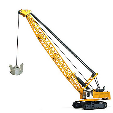 Jucării pentru mașini Jucarii Vehicul de Construcție Jucarii Retractabil Turn Excavator Plastic MetalPistol ABS Clasic & Fără Vârstă Șic