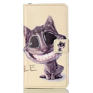 Varten Lomapkko Korttikotelo Tuella Flip Kuvio Magneetti Etui Kokonaan peittävä Etui Kissa Kova Tekonahka varten Sony Other