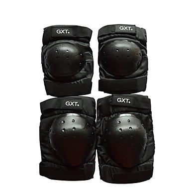 GXT G06 4 adet / set kısa diz dirsek koruyucusu motosiklet motosiklet motokros dişli motokros motosiklet diz koruma
