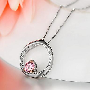 Breloczki Srebro standardowe Cyrkon Cyrkonia Klasyczny Unikalny Modny luksusowa biżuteria Silver Biżuteria Codzienny 1szt