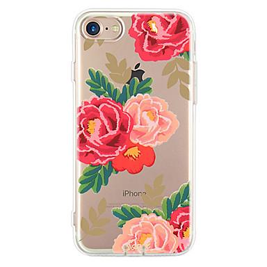 Etui Käyttötarkoitus Apple iPhone 6 iPhone 7 Plus iPhone 7 Ultraohut Kuvio Takakuori Kukka Pehmeä TPU varten iPhone 7 Plus iPhone 7