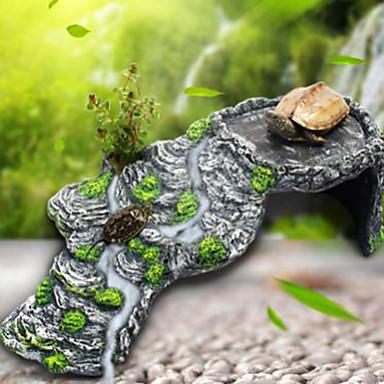 Decorațiune pentru Acvariu Ornamente Stânci Ne-Toxic & Fără Gust Reșină