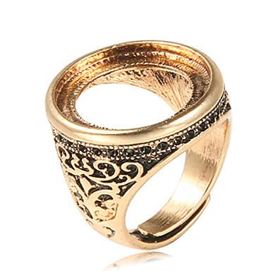 Yüzükler / Parti Günlük Mücevher alaşım Erkek Yüzük 1pc,Ayarlanabilir Altın