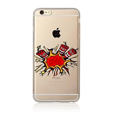 Για Με σχέδια tok Πίσω Κάλυμμα tok Κινούμενα σχέδια Μαλακή TPU για AppleiPhone 7 Plus iPhone 7 iPhone 6s Plus/6 Plus iPhone 6s/6 iPhone
