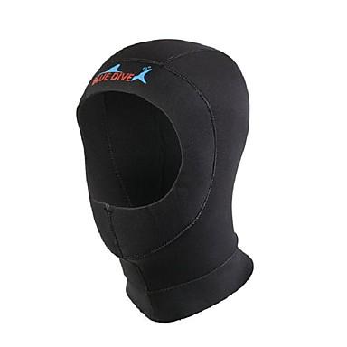 Bluedive Bărbați Pentru femei Unisex 3mm Glugi de Scufundări Keep Warm Uscare rapidă Gros Protector Nailon Neopren Diving Suit Pălării