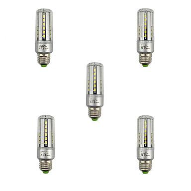 E27 LED-maissilamput T 42 ledit SMD 5736 Koristeltu Lämmin valkoinen Kylmä valkoinen 3000/6500lm 3000K/6500K